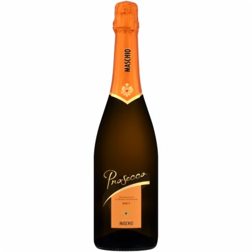 Cantine Maschio Brut Prosecco Italian Sparkling White Wine Perspective: front