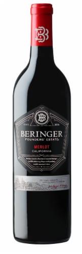 Beringer Founder's Estate Merlot Perspective: front