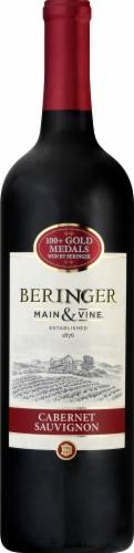 Beringer Main & Vine Cabernet Sauvignon Red Wine Perspective: front
