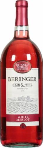 Beringer White Merlot Perspective: front