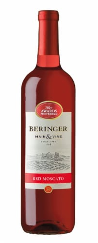 Beringer Red Moscato Perspective: front