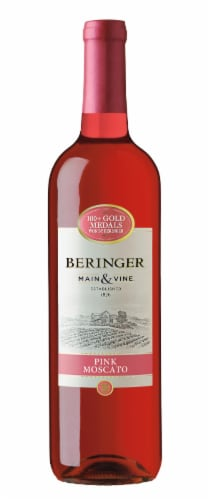 Beringer Main & Vine Pink Moscato Perspective: front