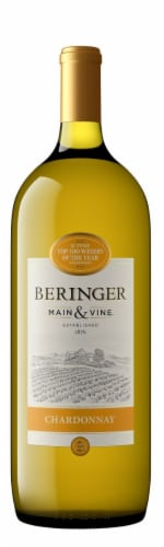 Beringer California Chardonnay Perspective: front