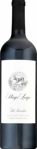 Stag's Leap The Investor Red Blend Wine Perspective: front
