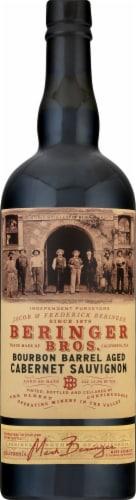 Beringer Bros. Bourbon Barrel Aged Cabernet Sauvignon Perspective: front