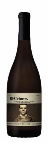 19 Crimes Sauvignon Block White Wine Perspective: front
