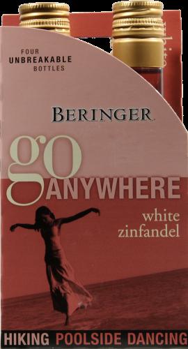 Beringer White Zinfandel Perspective: front