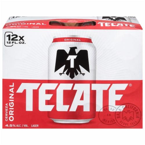 Tecate Cerveza Original Mexican Beer Perspective: front