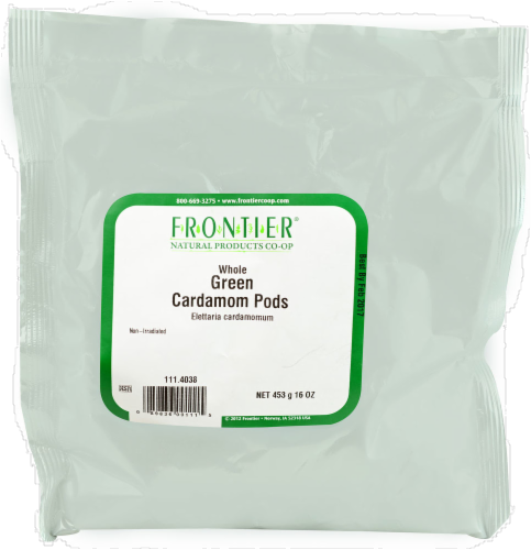 Frontier Whole Green Cardamom Pods Perspective: front