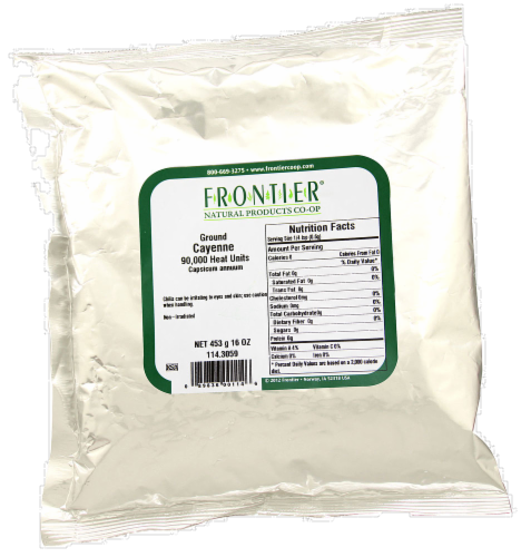 Frontier Ground Cayenne 90000 iu Perspective: front