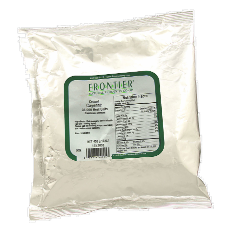 Frontier Ground Cayenne 35000 iu Perspective: front