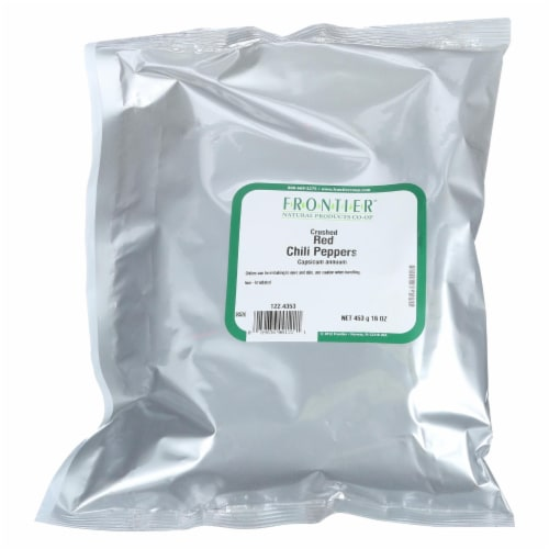 Frontier Herb Red Chili Pepper Flakes - Single Bulk Item Perspective: front