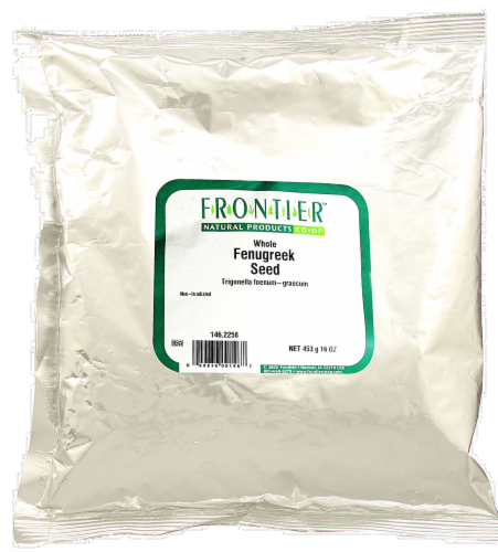 Frontier Whole Fenugreek Seed Perspective: front