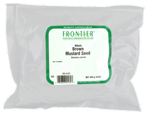 Frontier Whole Brown Mustard Seed Perspective: front