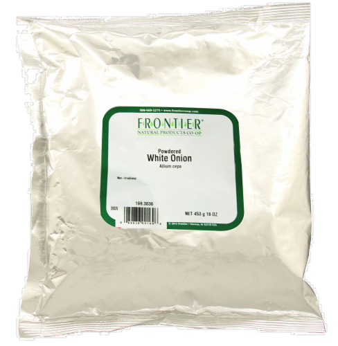 Frontier Powdered White Onion Perspective: front