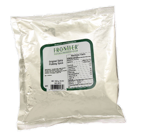 Frontier Organic Pickling Spice Perspective: front