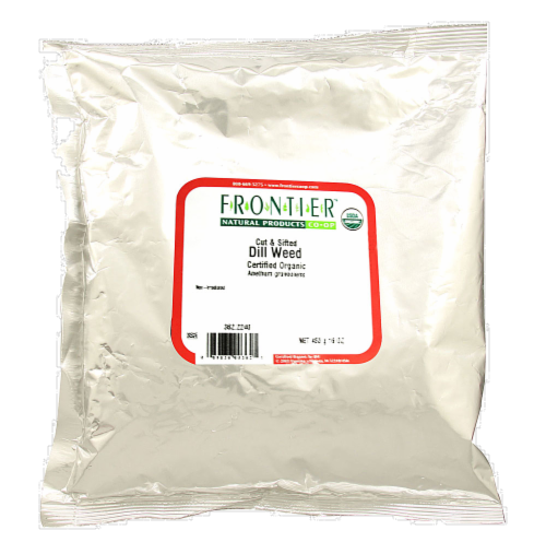 Frontier Organic Dill Weed Perspective: front