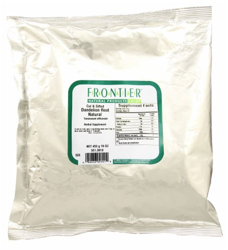 Frontier Dandelion Root Natural Cut & Sifted Perspective: front