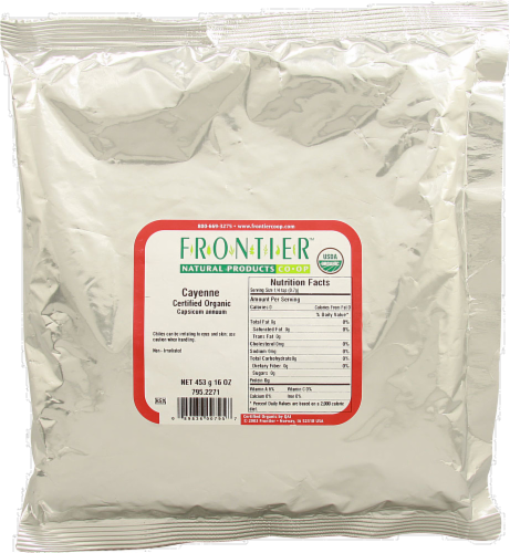 Frontier Organic Cayenne Perspective: front