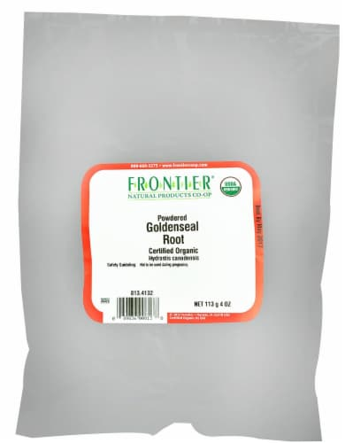 Frontier Natural Products Powdered Goldenseal Root Perspective: front