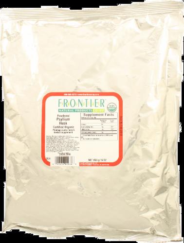 Frontier  Powdered Psyllium Husk Perspective: front