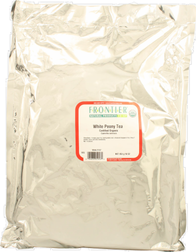 Frontier Organic White Peony Tea Perspective: front