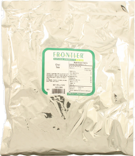 Frontier  Natural Products Chai Tea Perspective: front