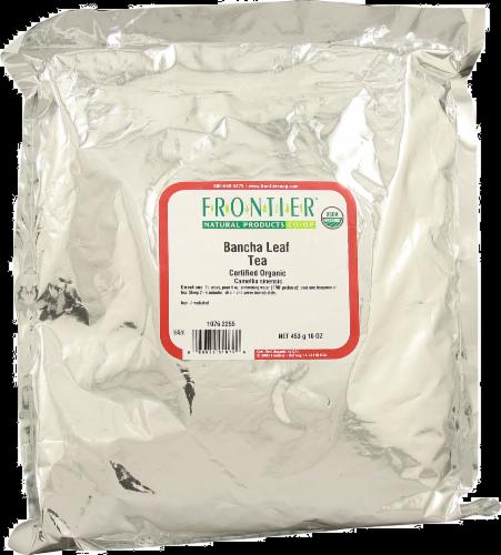 Frontier Organic Bancha Leaf Tea Perspective: front