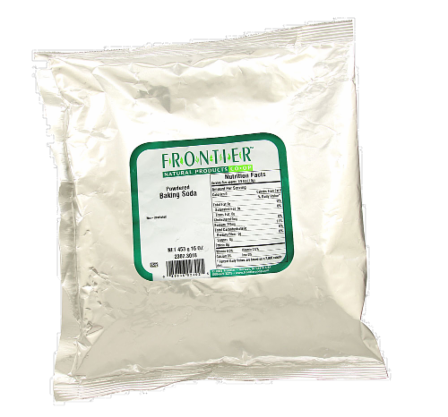 Frontier Baking Soda Powder Perspective: front