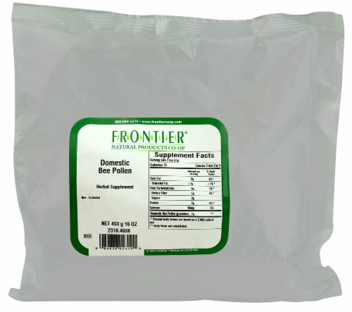 Frontier Domestic Bee Pollen Perspective: front