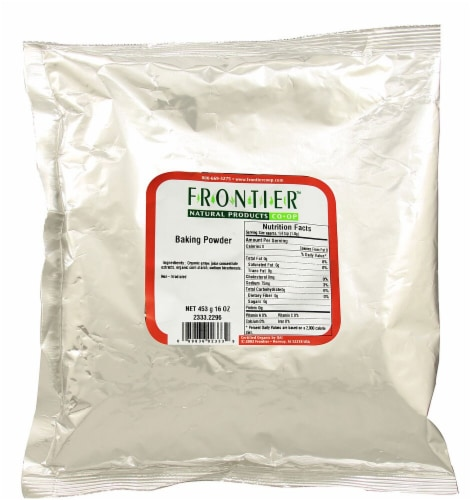 Frontier  Natural Products Baking Powder Perspective: front