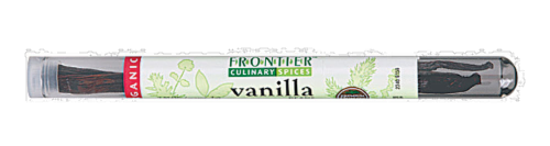Frontier Whole Vanilla Beans Perspective: front