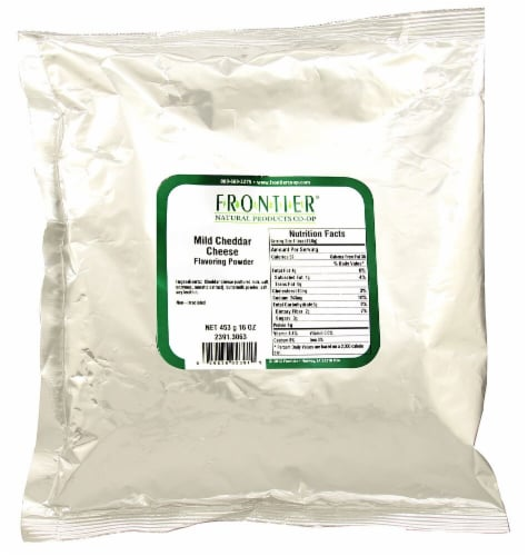 Frontier Mild Cheddar Cheese Flavoring Powder Perspective: front