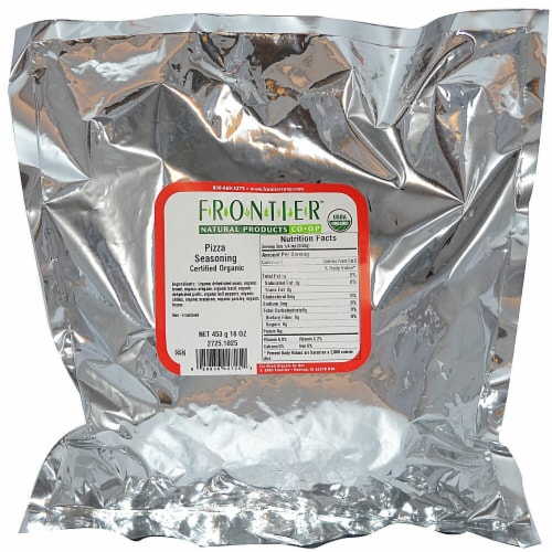 Frontier Pizza Blend Seasoning Perspective: front