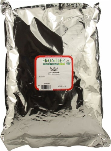 Frontier Organic Chives Perspective: front