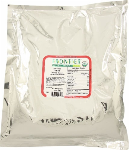 Frontier Organic Tomato Powder Perspective: front
