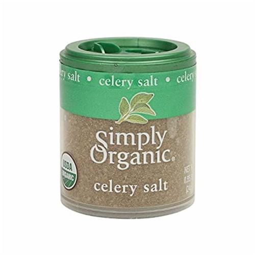 Simply Organic - Seasoning Celery Salt - 1 Each - 16 OZ Perspective: front