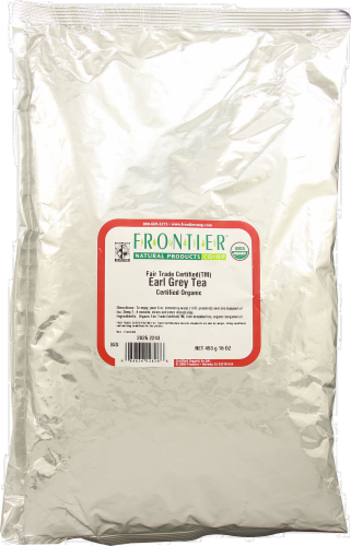 Frontier Organic Earl Grey Tea Perspective: front
