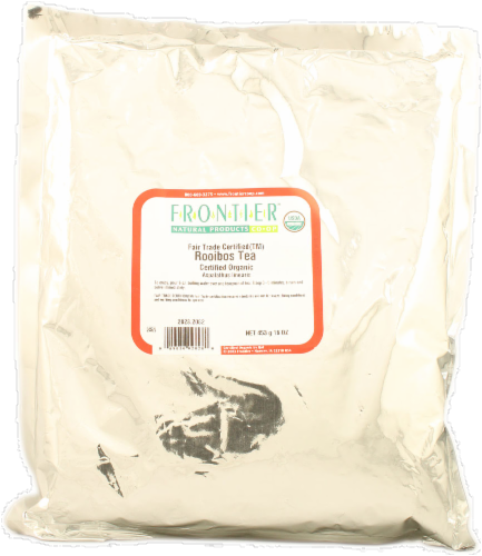 Frontier Organic Rooibos Tea Perspective: front