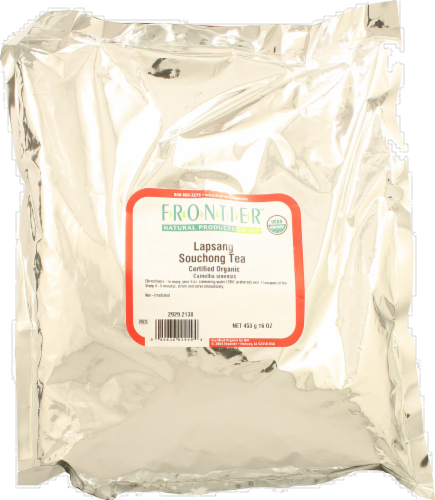 Frontier Organic Lapsang Souchong Tea Perspective: front