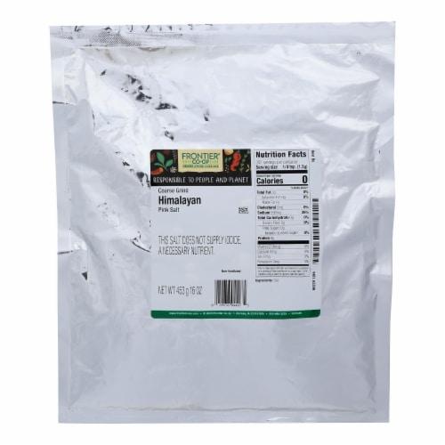 Frontier Herb Salt Himalayan Pink Coarse Grind Perspective: front