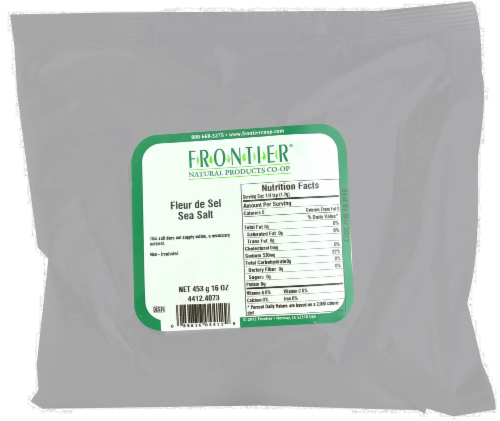 Frontier Fleur de Sel Sea Salt Perspective: front