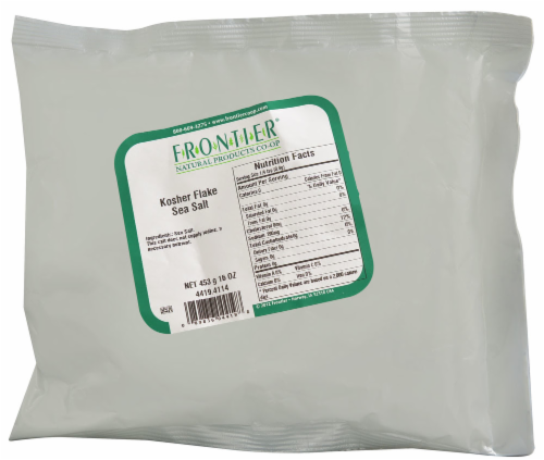 Frontier Kosher Flake Sea Salt Perspective: front