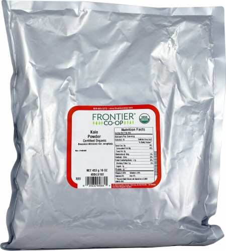 Frontier Organic Kale Powder Perspective: front