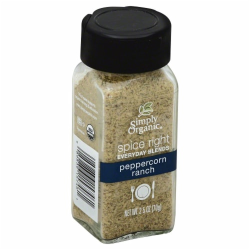 Simply Organic Spice Right Peppercorn Ranch Perspective: front