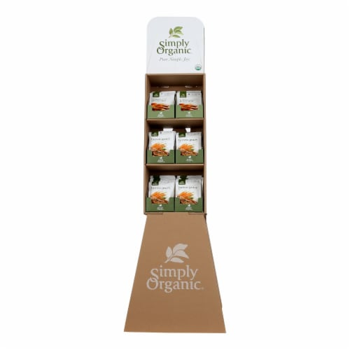 Simply Organic® Roasted Turkey & Brown Gravy Packets Perspective: front