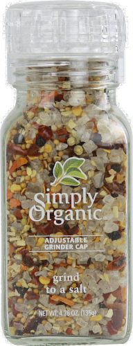 Simply Organic Grind to a Salt Perspective: front