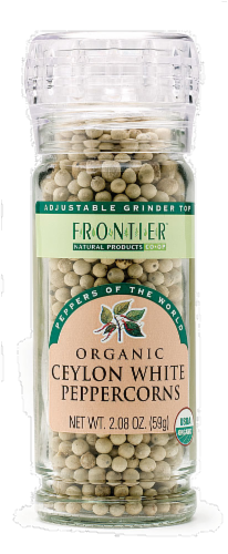 Frontier Ceylon White Peppercorns Perspective: front