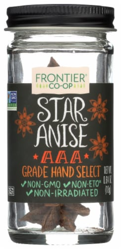 Frontier Co-Op Whole Star Anise Perspective: front