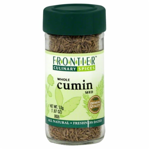 Frontier Whole Cumin Seed Perspective: front
